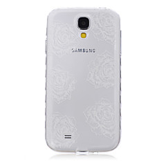 Flower Pattern Waves Slip Handle TPU Soft Phone Case for Galaxy S3/S4/S5/S6/S3 Mini/S4 Mini/S5 Mini/S6 edge/S6 edge+