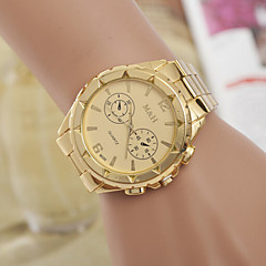 Woman And Men Alloy Wrist Watch