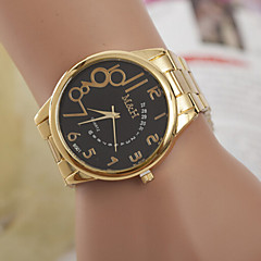 Woman And Men Personality Digital Gold Belt Wrist Watch Cool Watches Unique Watches