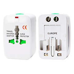 whirldy alles in een internationale adapter universele wereldwijd reislader adapter, wit