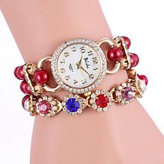 YILISHA®  Women's Bead Colorful Crystal Quartz Bracelet Watches