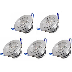 5PCS Recessed led downlight 3W LED Spot light led ceiling lamp AC 100-240V