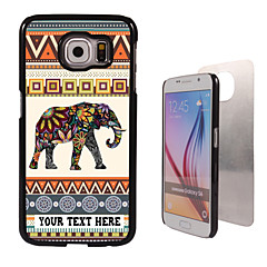 For Samsung Galaxy etui Mønster Etui Bagcover Etui Elefant PC SamsungS6 edge plus / S6 edge / S6 / S5 Mini / S5 / S4 / A8 / A7 / Note 5 /