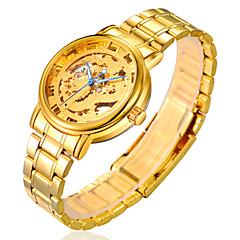 miesten katsella teräs ketju kulta hopea kulta lohikäärme kiinalainen automaattinen mekaaninen kellot kovertamiseen