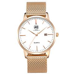 AIBI® Men's Fashion Watch Calendar Water Resistant Angeles Rose Golden Business Designer Watch Wrist Watch Cool Watch Unique Watch With Watch Box
