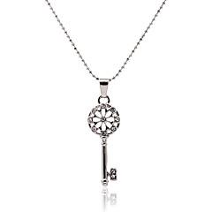 Dames Hangertjes ketting Kristal imitatie Diamond Legering Modieus Zilver Sieraden Feest Dagelijks Causaal 1 stuks
