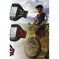 siłownia ćwiczenia z dostroić okładka treningu systemem sportowy pasek opaskę dla iPhone 4 / 4S (różne kolory)