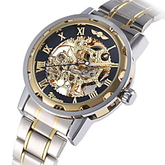 Heren Unisex Dress horloge Modieus horloge mechanische horloges Handmatig opwindmechanisme Automatisch opwindmechanismeGrote wijzerplaat