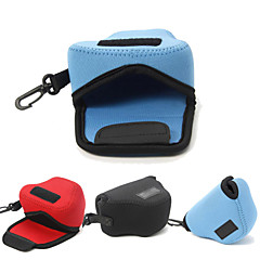 Dengpin® Neoprene Soft Camera Protective Case Bag Pouch for Panasonic DMC-GM5 GM1S 12-32mm Lens (Assorted Colors)