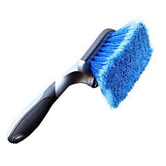 lebosh pulizia auto pennello lavare pennello manico spazzola morbida gomma