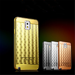 aluminium metalramme + akryl bagsiden case tasker diamant hudens overflade til Samsung Galaxy Note 2 / note 3 / note 4 / note 5