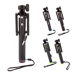 rétractable mini-prise de 3,5 mm selfie bâton monopode pour les téléphones intelligents