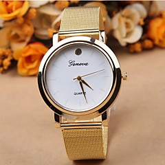 Simple and stylish alloy belt watch dial