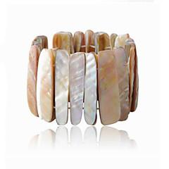 Vintage Look Natural Seashell Elastic Shell Women Bracelet(1PC)