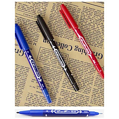 2Pcs  Permanent Pen Large Marker Pen Fadeless Marking Pen