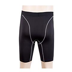 Homens Shorts de Corrida Short de Compressão de Corrida Secagem Rápida Permeável á Humidade Respirável Redutor de Suor Calças Shorts para