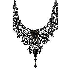 Dames Choker kettingen Hangertjes ketting Sieraden Kant Vintage Bruids Kostuum juwelen Sieraden Voor Bruiloft Feest Dagelijks Causaal