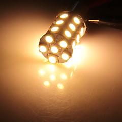 2 x 1156 BA15S 27 LED 5050 SMD warmweiß Auto Schwanz Bremslichtlampe Lampe
