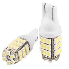 2 * t10 W5W 168 194 alb 42 SMD LED-uri laterale lampa bec