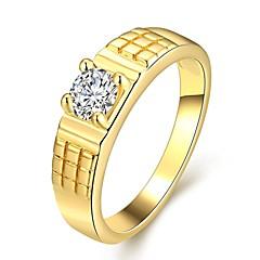 Hochzeit / Party / Alltag - Statementringe ( Zirkon / vergoldet / Rose Gold überzogen )