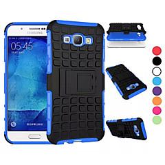 Varten Samsung Galaxy kotelo Iskunkestävä / Tuella Etui Kokonaan peittävä Etui Panssari PC Samsung A8 / A7 / A5 / A3