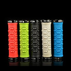 Cycling Handlebar Grips Bicycle Grips Skull Style Lock Cover Handlebars Bicycle Grips