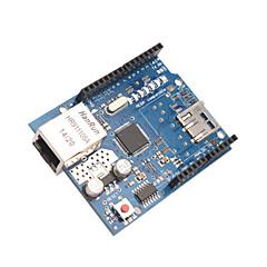 ranura del módulo W5100 micro sd card escudo ethernet para Mega Arduino UNO