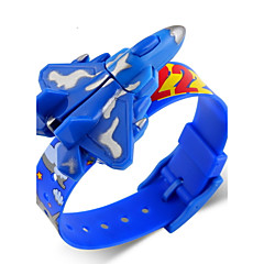 SKMEI® Children's Fighter Aircraft Style Digital Toy Watch Cool Watch Unique Watch