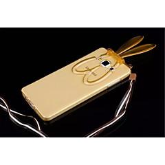 Mert Samsung Galaxy tok Állvánnyal / Átlátszó / Minta Case Hátlap Case 3D rajz TPU Samsung A8 / A7 / A5
