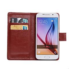 Varten Samsung Galaxy kotelo Korttikotelo / Tuella / Flip / 360° kierto Etui Kokonaan peittävä Etui Yksivärinen Tekonahka SamsungOn 7 /