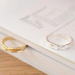 Fashion Lovely Irregular Bow Alloy Ring