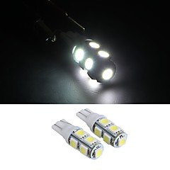 10 * t10 12v branco 5050 SMD 9 cunha levou carro lateral luz lâmpada