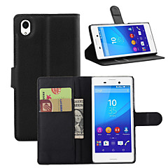 The Lychee Stripe Card Holder Protects The Leather Case for The Sony Series