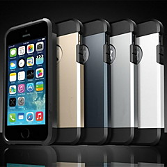 caso dell'armatura difficile per iphone 5 / 5s (colori assortiti)