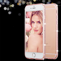 bling transparante TPU luxe shinning sparkling telefoon Case voor iPhone 7 7 plus 6s 6 plus