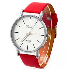 Women's  Round Dial PU Band Quartz Analog Wrist Watch(Assorted Colors)