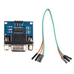 Porta seriale RS232 per modulo di comunicazione del convertitore TTL w / via cavo DuPont per arduino