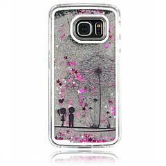 For Samsung Galaxy etui Flydende væske Etui Bagcover Etui Mælkebøtte PC for Samsung S6 edge S6 S5 S4