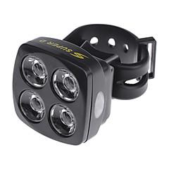 Luci bici , Illuminazione anteriore / luci di sicurezza - 5 Modo 60 Lumens Ricaricabile / Resistente agli urti / antiscivolo Altro x3.7V
