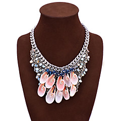 Necklace Statement Necklaces Jewelry Birthday Wedding Party Daily Heart Bohemia Style Alloy Women 1pc Gift Gold