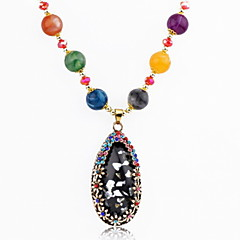 Fashion Women Crystal/Alloy/Rhinestone Necklace Pendant Necklaces Party/Daily/Casual