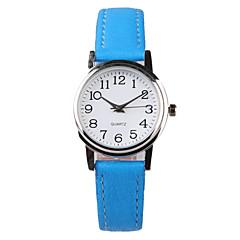 Mulheres Relógio de Moda Quartzo Impermeável PU Banda Azul Azul