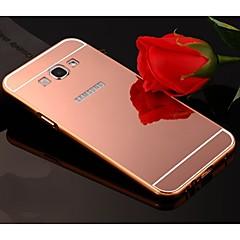 Mert Samsung Galaxy tok Galvanizálás / Tükör Case Hátlap Case Egyszínű Akril Samsung A8 / A7 / A5 / A3