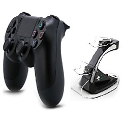 [Gift Pacakge]Dual Shock Wireless Bluetooth Game Controller With Charge Station for PS4