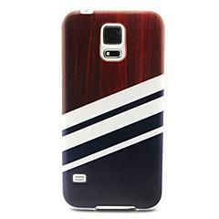 Για Samsung Galaxy Θήκη Με σχέδια tok Πίσω Κάλυμμα tok Γραμμές / Κύματα TPU SamsungS6 edge / S6 / S5 Mini / S5 / S4 Mini / S4 / S3 Mini /