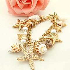 Damskie Bransoletki Strand Stop Porcelanka Muszla Unikalny Modny Biżuteria Golden Biżuteria 1szt