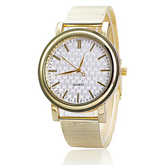 Xu™ Women's Golden Mesh Belt Quartz Watch Cool Watches Unique Watches