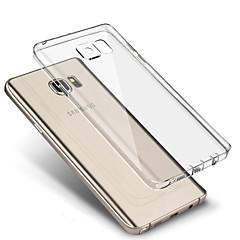 För Samsung Galaxy S7 Edge Ultratunt Genomskinlig fodral Skal fodral Enfärgat TPU för Samsung S7 edge S7