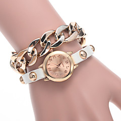 Women's Fashion Watch The Latest Listing Of The New Fashion Alloy Chain With a Gold-Plated Watch Quartz Watch