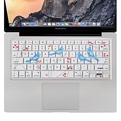 xskn τραγουδούν πουλί κάλυμμα πληκτρολόγιο προστάτης του δέρματος σιλικόνης για MacBook Air / Pro 13 15 17 ιντσών, μας διαρρύθμιση